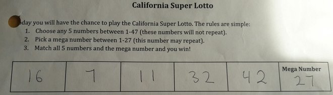 CA super lotto - Josefina Ramos